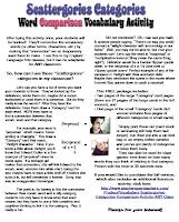 Vocabulary Scattergories www.teacherspayteachers.com/Store/Tracee-Orman
