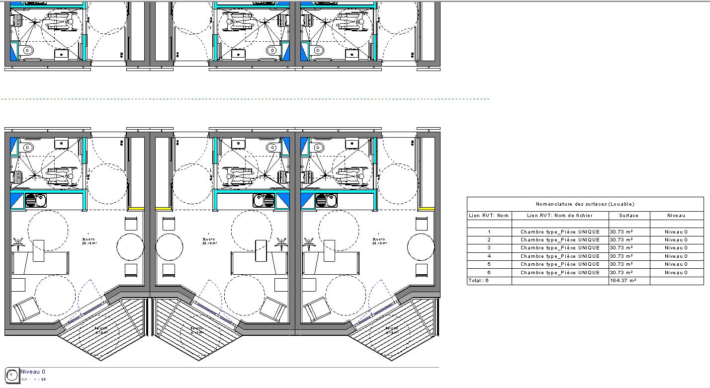 Plan de maison 6 chambres for Maison 6 chambres
