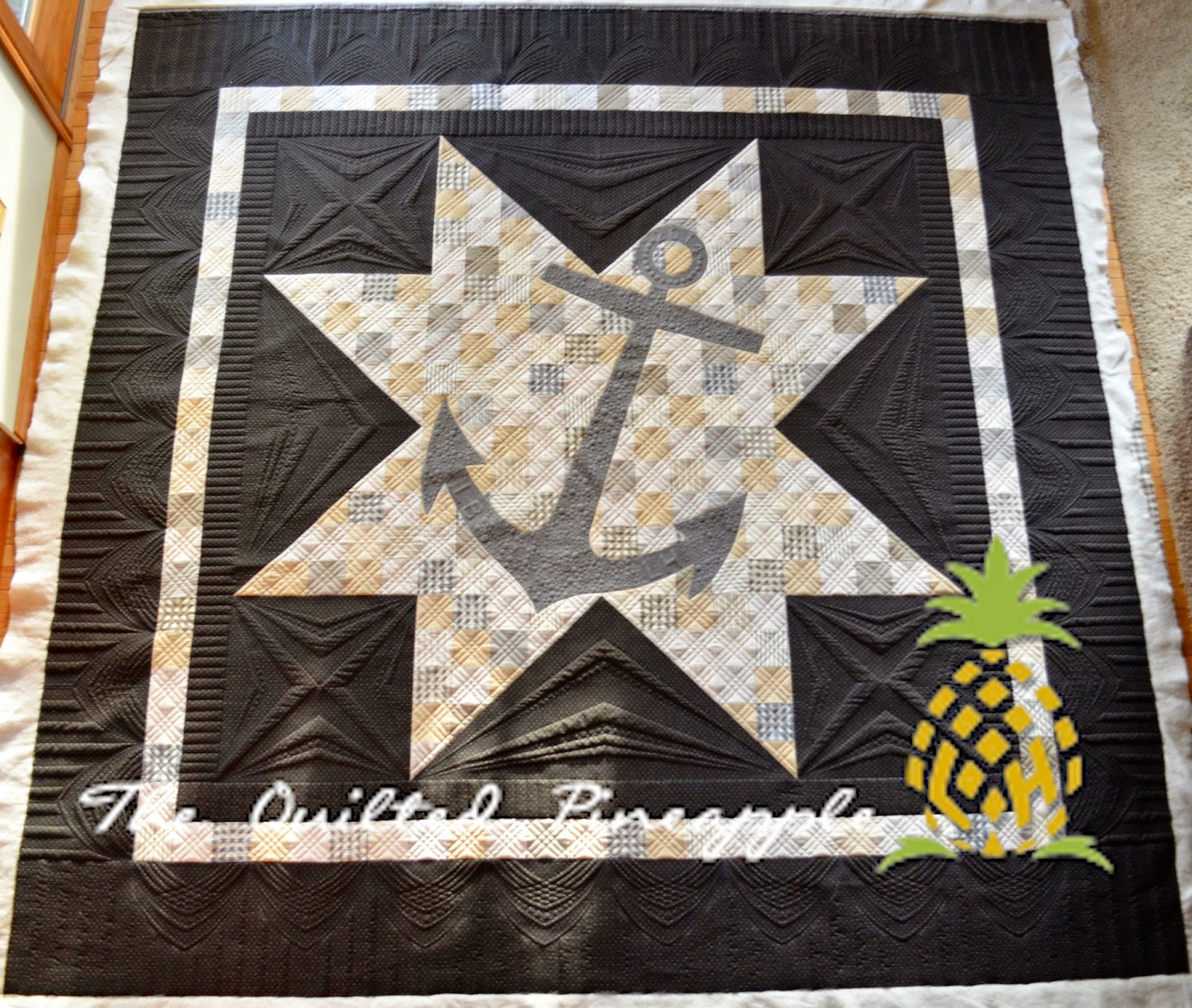 THE QUILTED PINEAPPLE : quilted quilt - Adamdwight.com