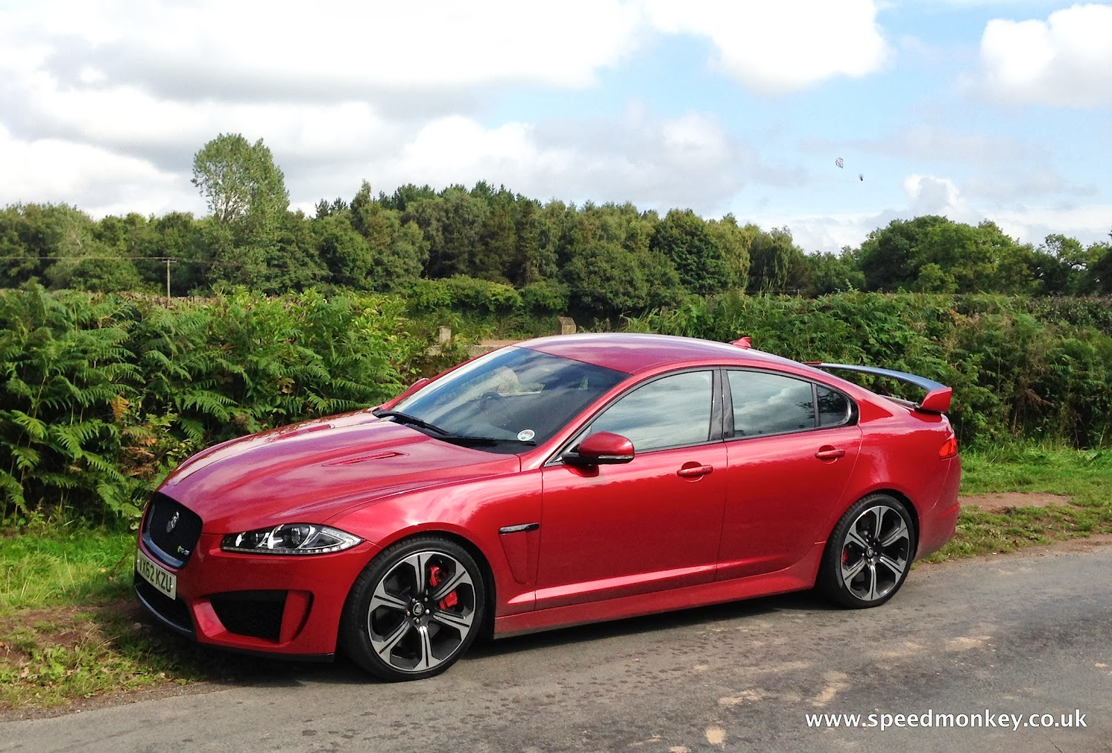 Speedmonkey: 2013 Jaguar XFR-S review