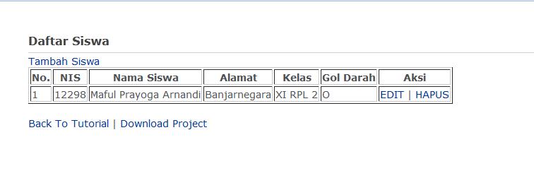 free - Download Sourcecode Crud Dengan Codeigniter