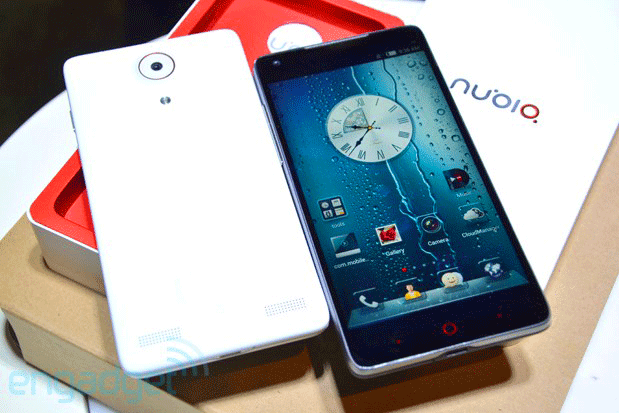 ZTE Nubia Z5 full HD (1080p) smart phone