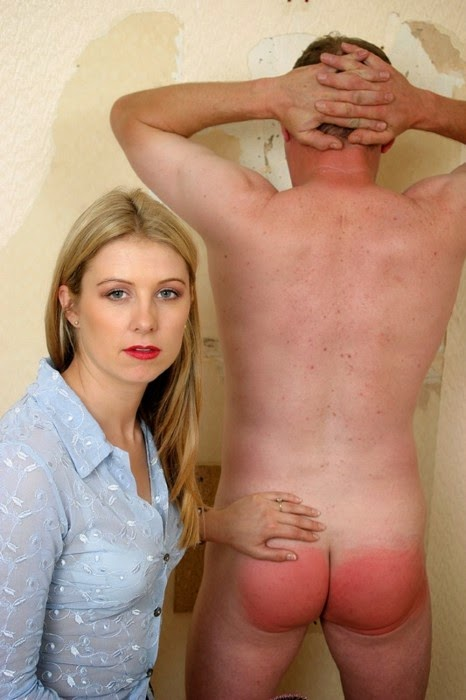 image Strict wife makes long suffering husband pay for his errors