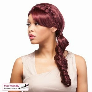 Its a Wig Synthetic Lace Front Wig Braid Lace Uptown