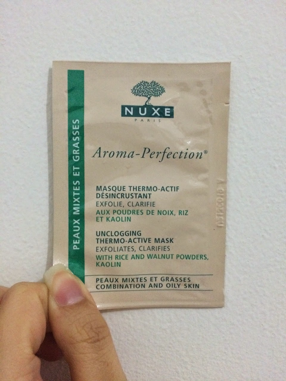 how to use nuxe aroma perfection