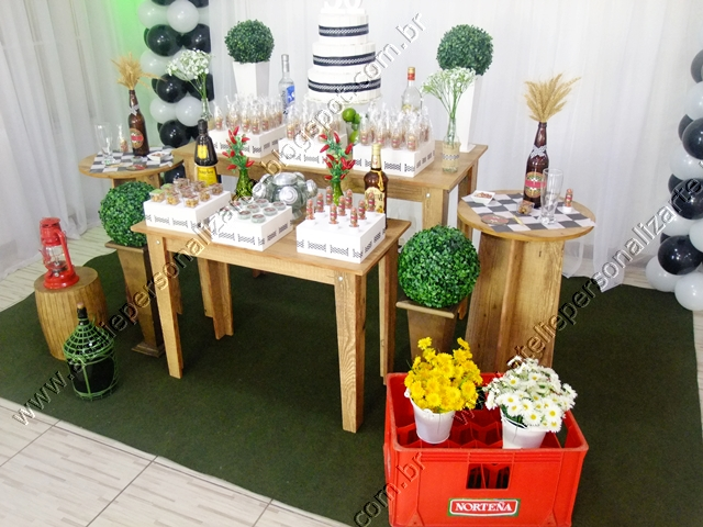 decoracao boteco festa:Decoração de festas, lembrancinhas personalizadas, bolos