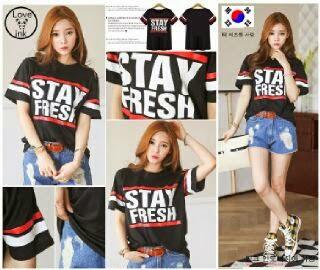 VBT Stay Fresh - Kaos Ukuran Besar - Harga Saudara