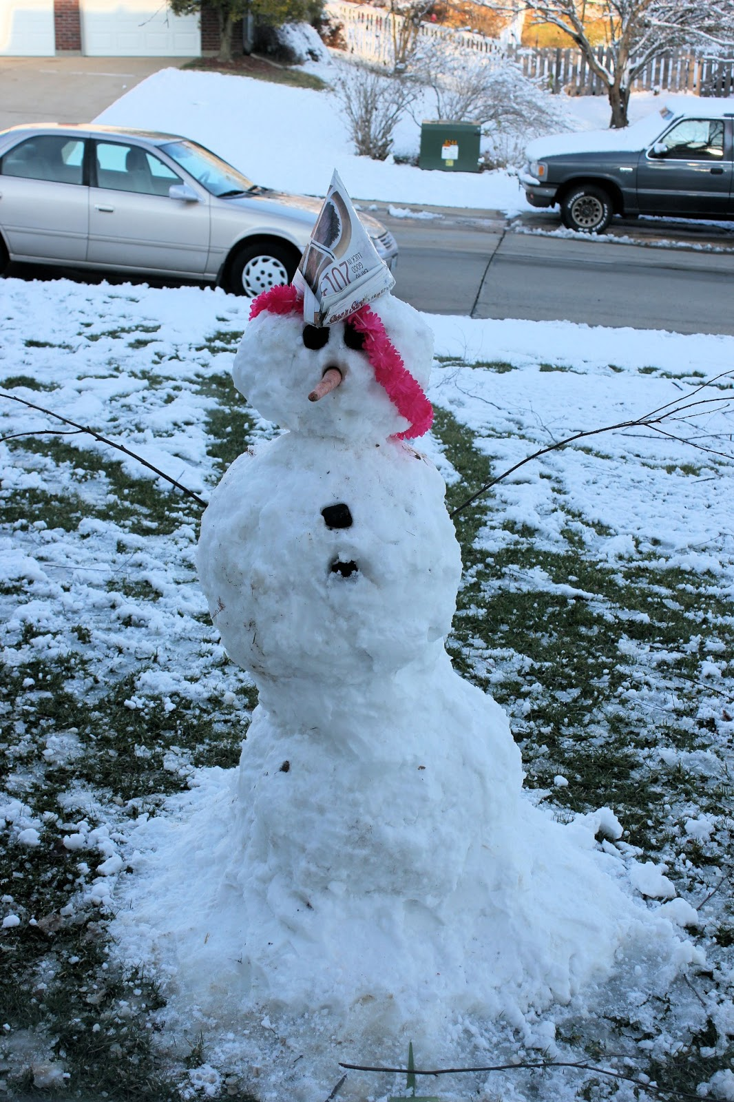paralyzed with joy once there was a snowman