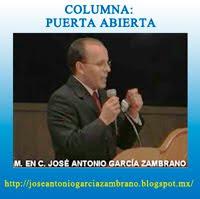 M. en C. José Antonio García Zambrano
