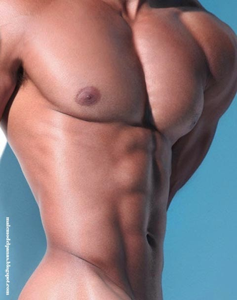 nipples of muscle hunk men