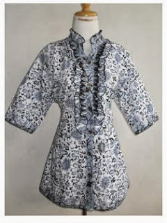 model pakaian batik 2014