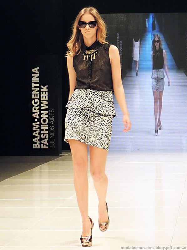 Markova primavera verano 2014. Moda faldas verano 2014.