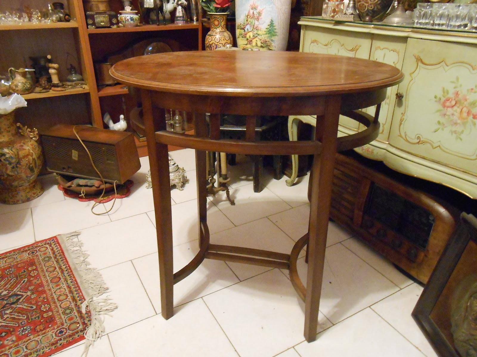 Tavolo Ovale Antico : Antico tavolo ovale chippendale in massello metà 900 o prima da