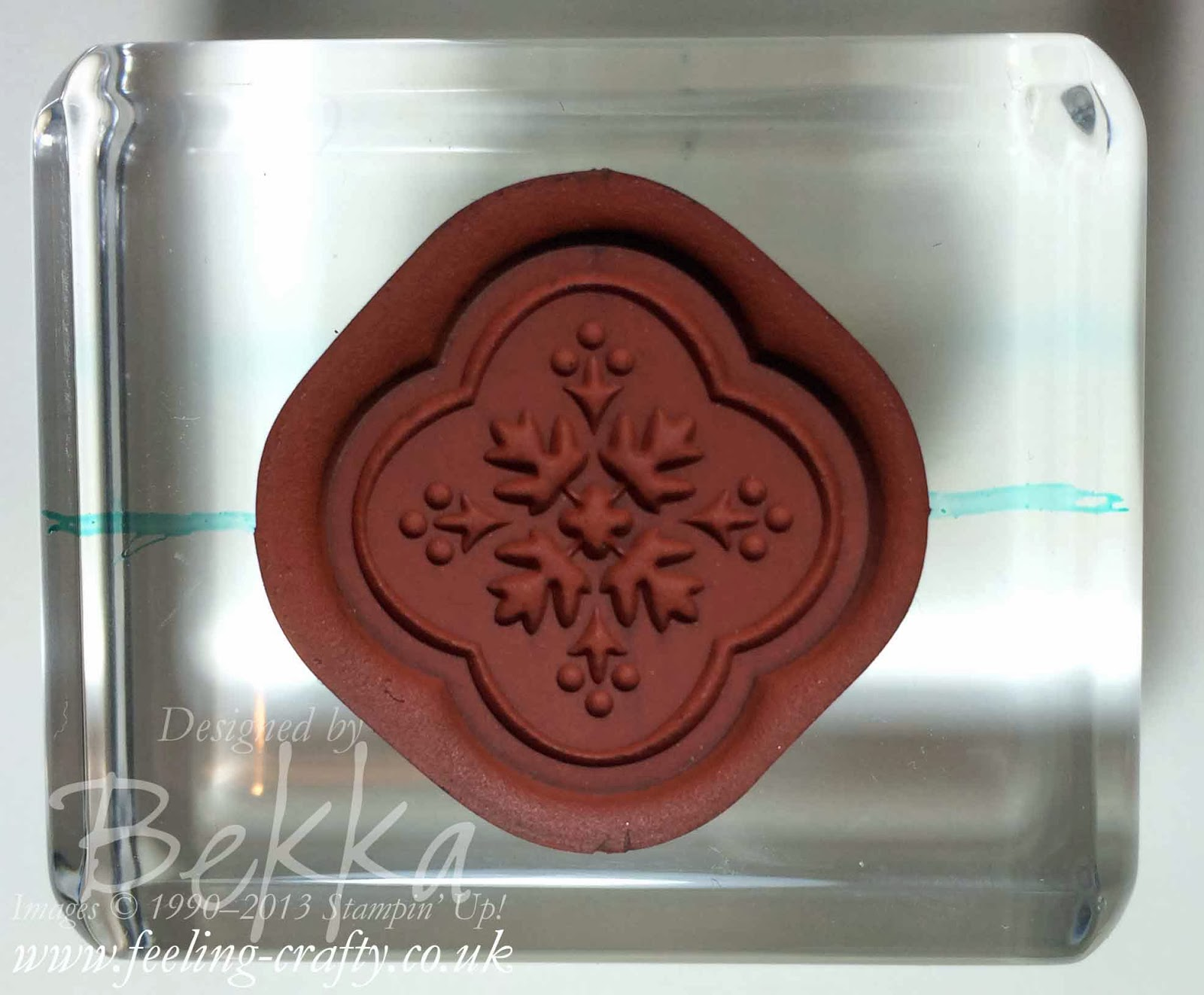 How to line up your Stampin' Up! Clear Mount Stamps - check out this blog for lots of great tips