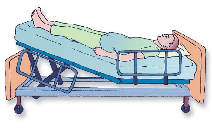 Posiciones anatomicas del paciente for Cama definicion