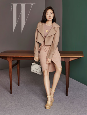 Gong Hyo Jin - W Magazine October Issue 2015