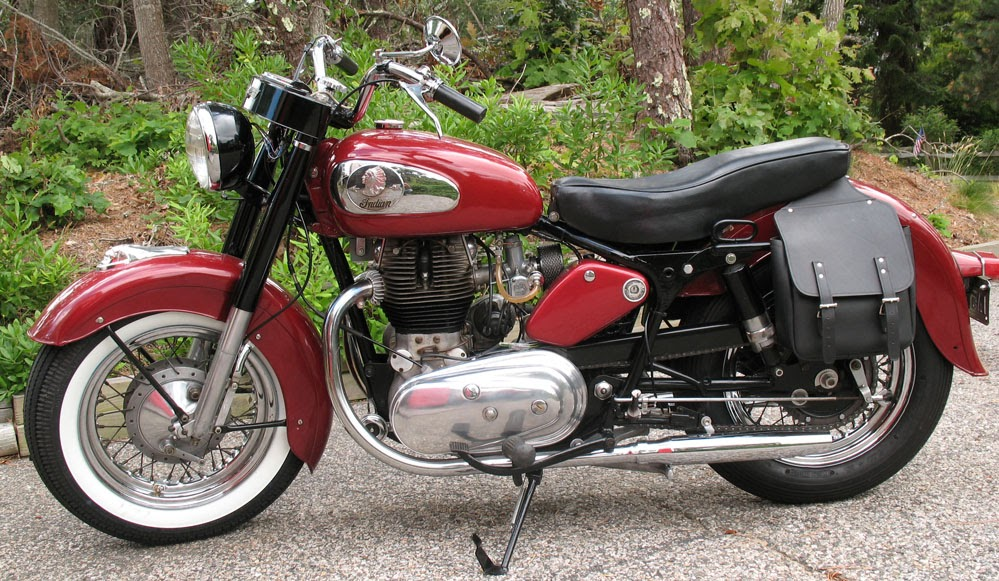 RoyalEnfields.com: His Royal Enfield Indians are 'a bit ...