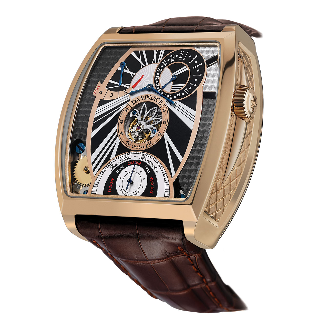 Da Vindice Geneve The Tourbillon Barometer Watch