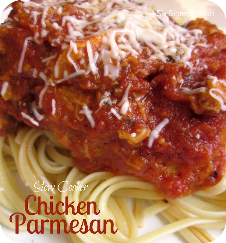 Slow Cooker Chicken Parmesan Six Sisters Stuff