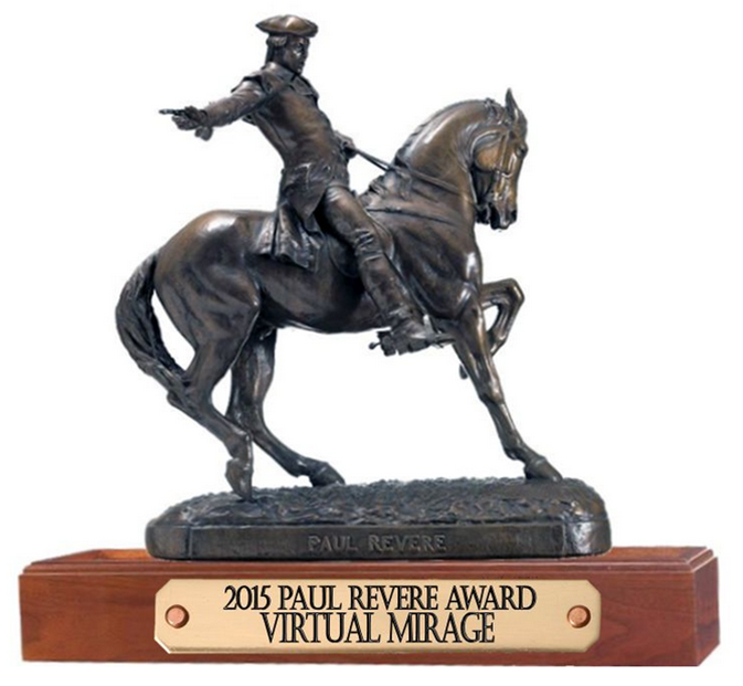 Paul Revere Award - 2015