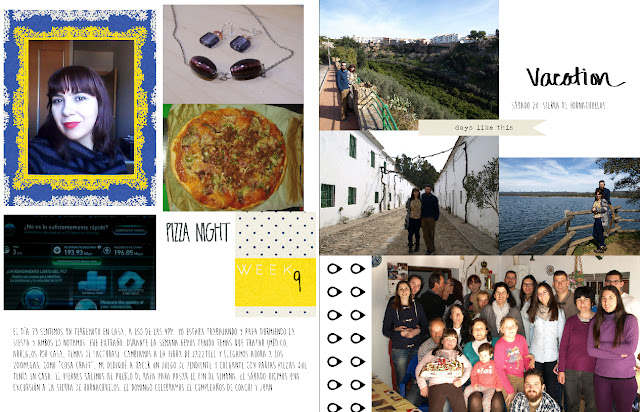 Project Life 2015: mes de febrero