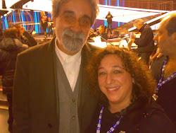 Cristina Noris ed il M° Beppe Vessicchio