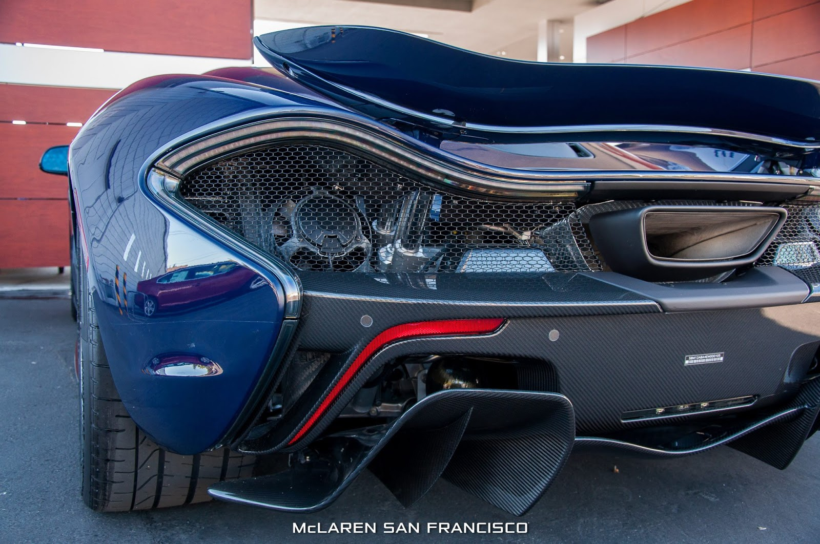 Bmw Software Update >> New McLaren P1 in Custom Blue Shade Arrives in San Francisco [45 Pics] | Carscoops