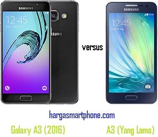 Harga dan Perbedaan Samsung Galaxy A3 (2016) dengan A3 (Yang Lama)