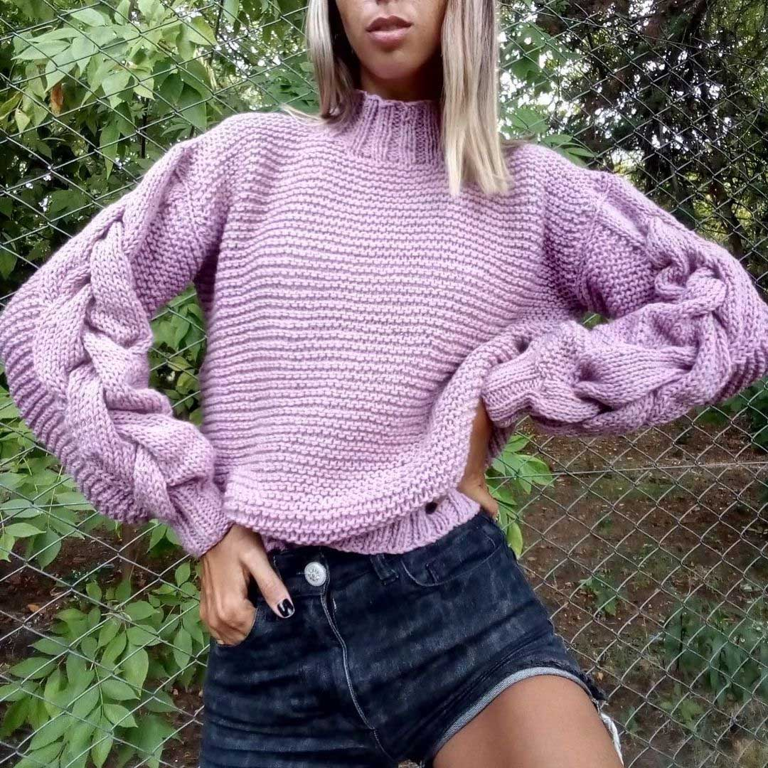 MODA TEJIDOS OTOÑO INVIERNO 2021: Sweaters, chalecos y sacos tejidos by OTTOBRE invierno 2021