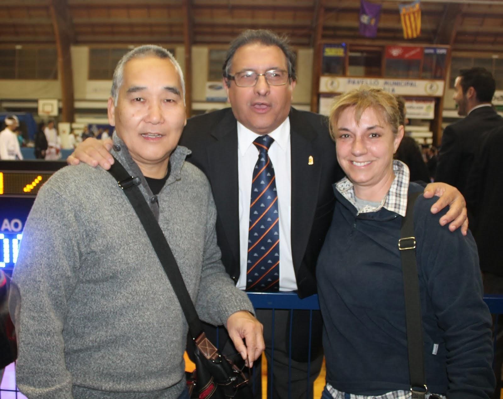 Akio, Ángel y Puri