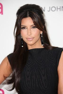 Kim Kardashian 2012 Hairstyle
