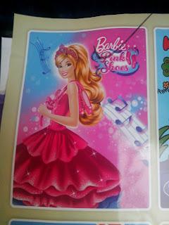 Grosir Selimut Rosanna Soft Panel Blanket Barbie Pink Shoes
