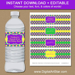 Shop: Mardi Gras Water Labels