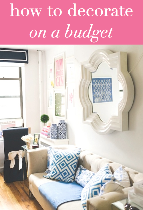 how to decorate on a budget design darling bloglovin