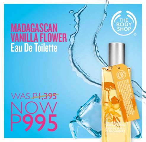 The Body Shop: All Time Fave SALE | Madagascan Vanilla Flower