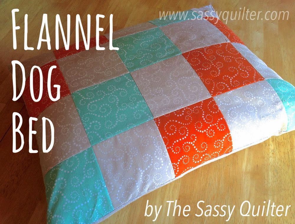 http://www.sassyquilter.com/dog-bed-tutorial/