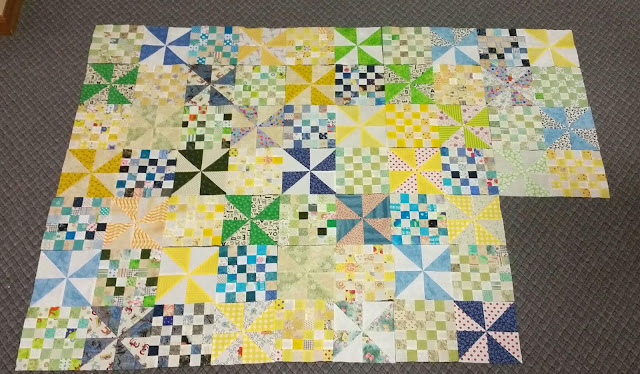 Patches and Pinwheels - July