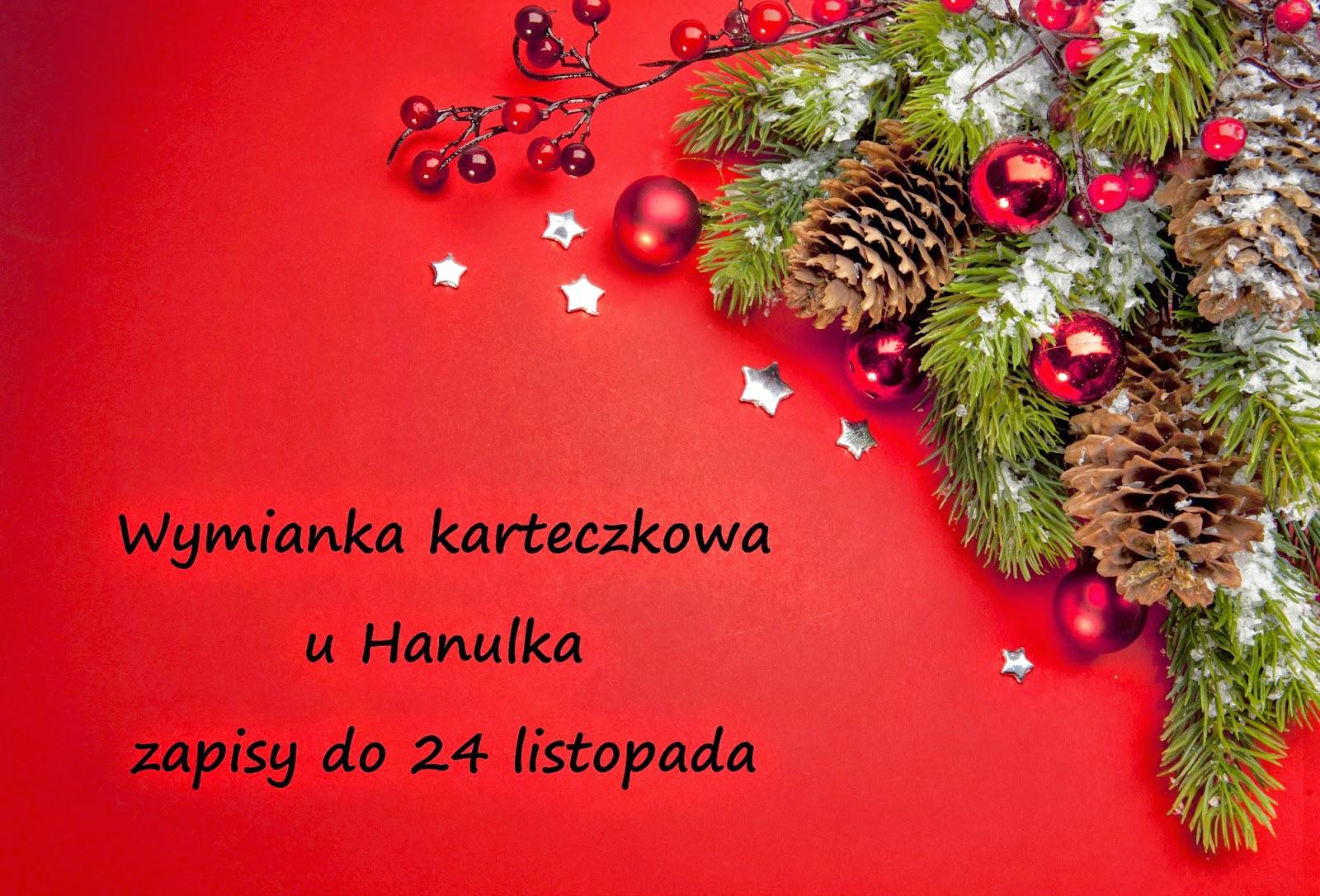 Bożonarodzeniowa wymianka karteczkowa u Hanulka