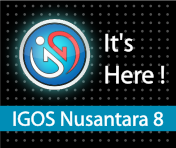 IGOS Nusantara 8 It's here