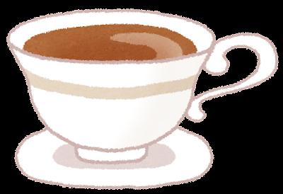 紅茶・ティーカップのイラスト