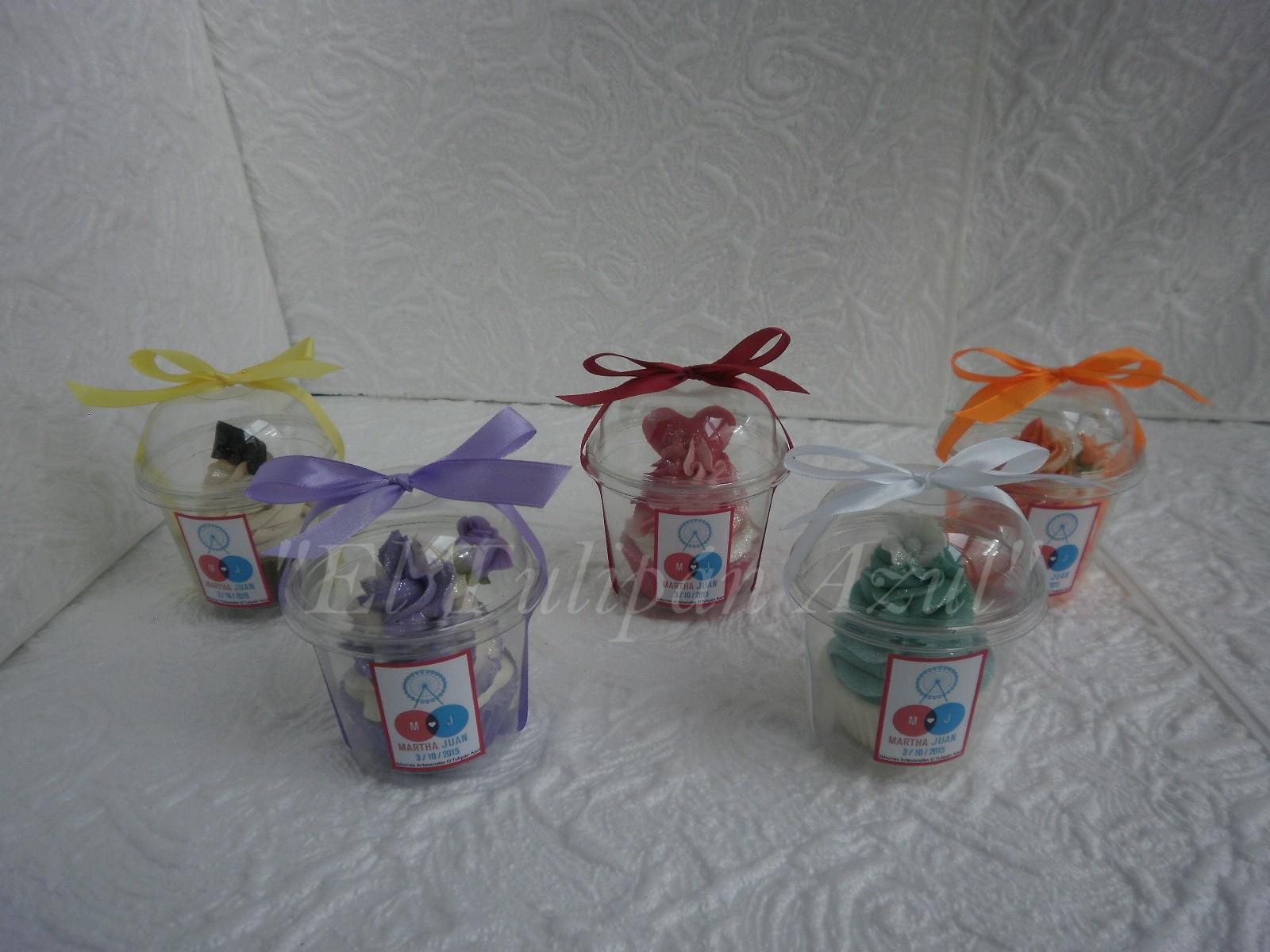 Cupcake de Jabón Tamaños: MAXI y MINI