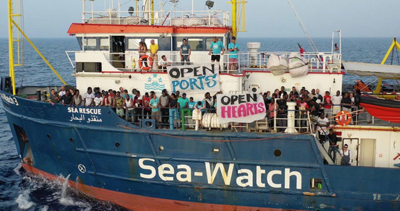 SeaWatch unterstützen!!!