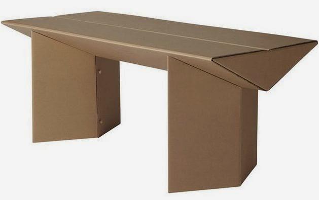 Arte y arquitectura mesas de cart n - Mesas de carton ...