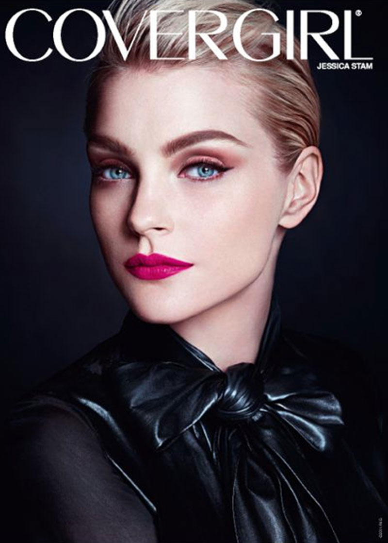 covergirl2 Jessica Stam para CoverGirl!