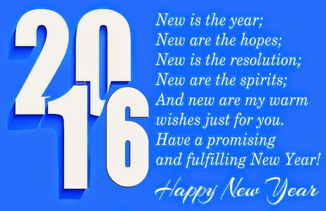 2016 Hd wallpaper with message quote sms Blue background