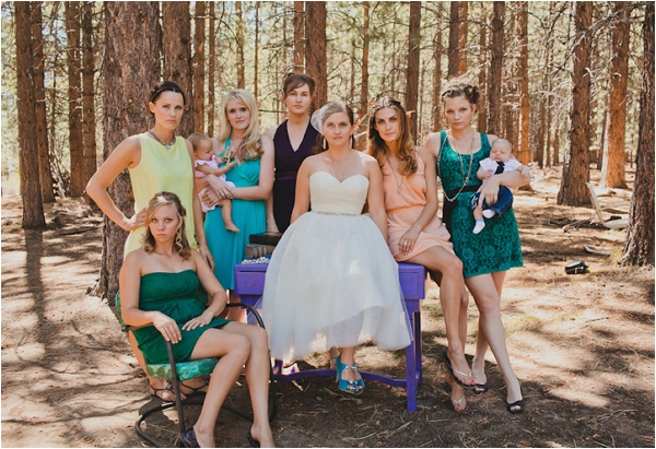 bridesmaids // photo credit: Bethany Carlson Photography