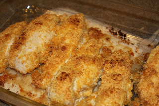 baked crispy chicken