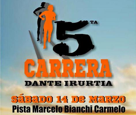 10k y 5k Dante Irurtia (Carmelo, Colonia; 14/mar/2015)