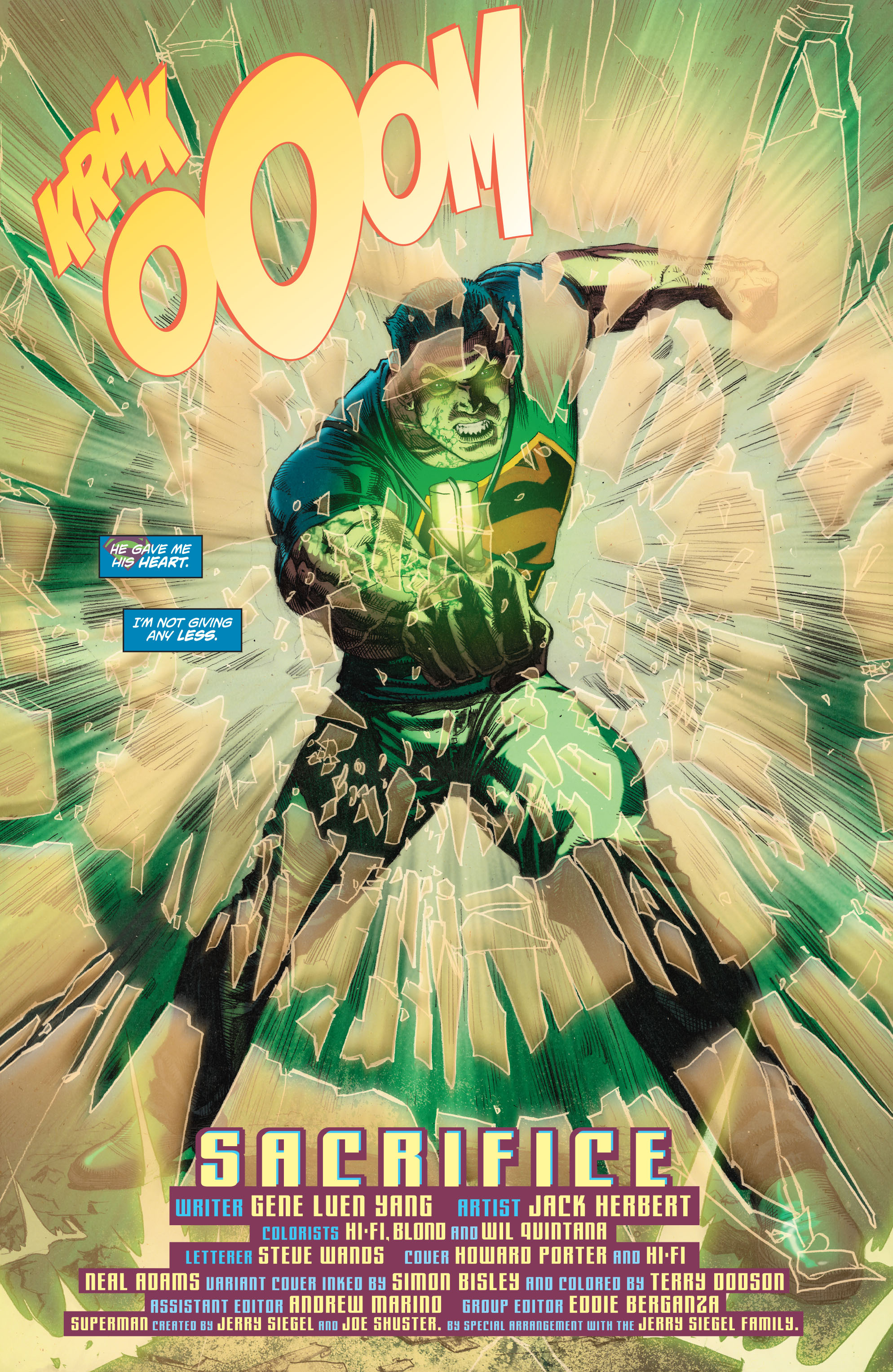 Read online Superman (2011) comic -  Issue #49 - 22