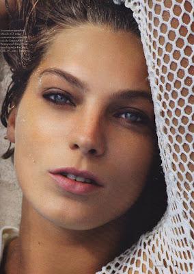 Daria Werbowy Elle Magazine Wallpapers